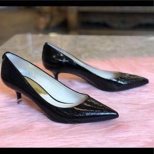 Michael Kors Black Patent Leather Heels • Size 10M